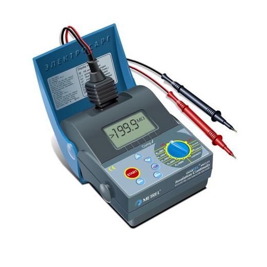 Измерение сопротивления изоляции MI 2123 Metrel (MI2123)