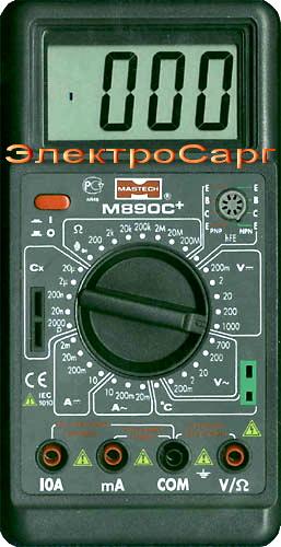 МУЛЬТИМЕТР, М 890C, М890C, М-890 C