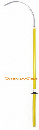 штанга изолирующая спасательная, ШОС, ШОС-10 , ШОС 10, указатель высокого напряжения