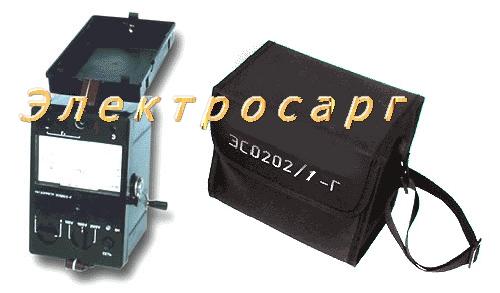 Измерение сопротивления изоляции, ЭС0202/1Г , ЭС 0202 /1Г , ЭС-0202/1Г , ЭСО202 , мегаомметр