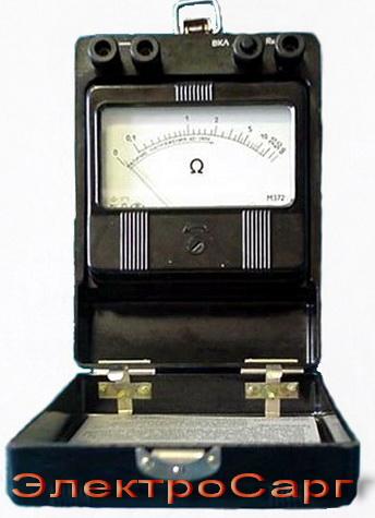 Омметр,сопротивление заземленной проводки, обрыв, M 372, M372, M-372