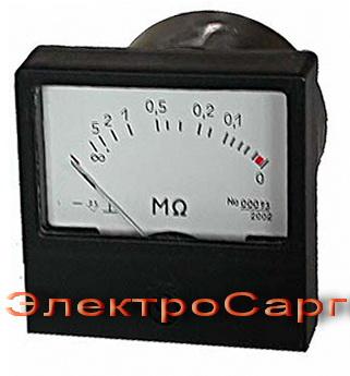 Омметр , измерение сопротивления изоляции сетей , M 419 , M419 , M-419 , щитовые
