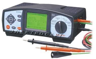 Тераомметр MI 2077 Metrel (Цифровой измеритель параметров УЗО и тока КЗ MI2077)