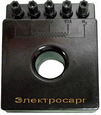 Трансформатор тока измерительный лабораторный - УТТ-5М 1 ( УТТ-5М1.