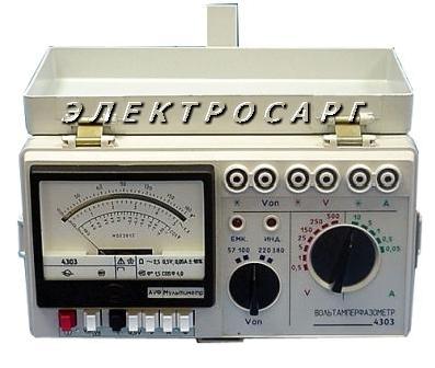 Вольтамперфазометр, 4303 , ВАФ